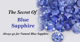 Blue Sapphire PMKK GEMS