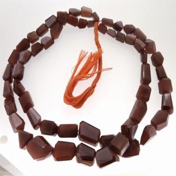 CHOCOLATE MOONSTONE BEADS