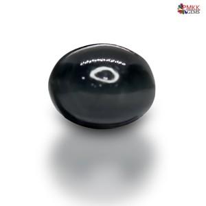 Natural Black Quartz Cat's Eye