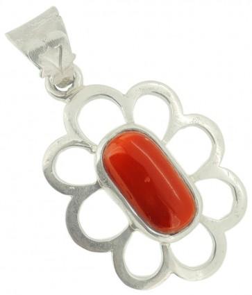 RED CORAL(MOONGA) LOCKET