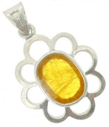 YELLOW SAPPHIRE(PUKHRAJ) LOCKET
